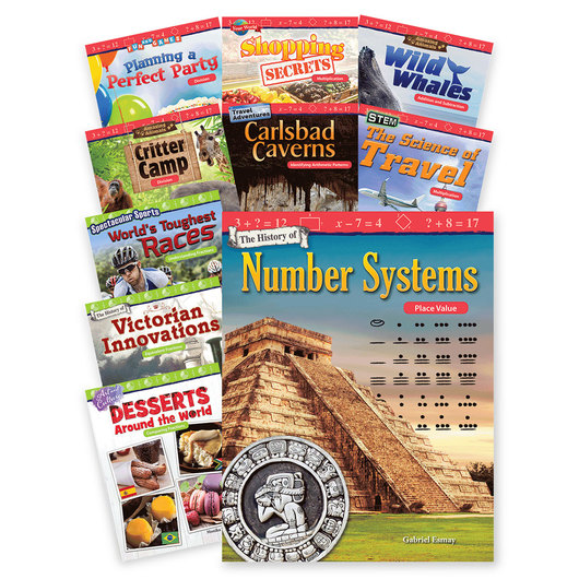 Math Readers - Grade 3 - Operations, Algebraic Reasoning, and Fractions