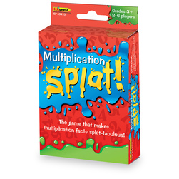Math Splat! Game - Multiplication