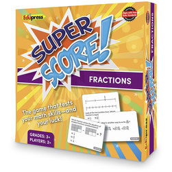 Super Score™ Fractions Game