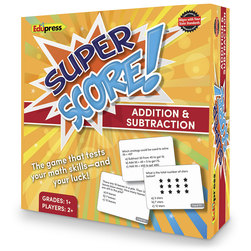 Super Score™ Game - Addition & Subtraction