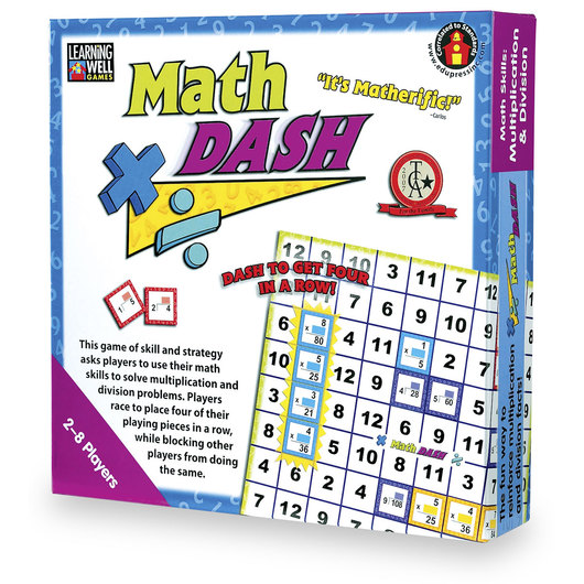Math Dash Game - Multiplication/Division