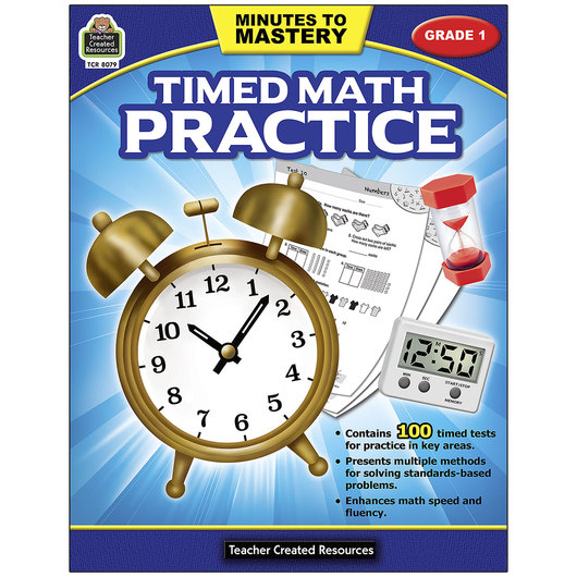 Minutes to Mastery - Timed Math Practice - Grade 1