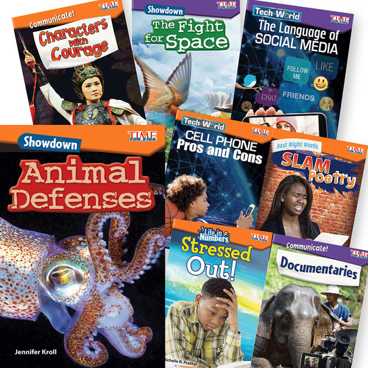 TIME for Kids® STEAM Book Set - Grade 4-5