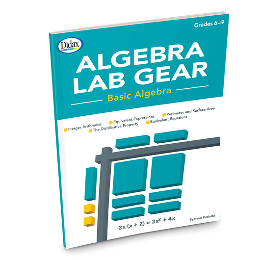 Algebra Lab Gear® - Basic Algebra Book