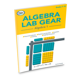 Algebra Lab Gear, Algebra 1 Book