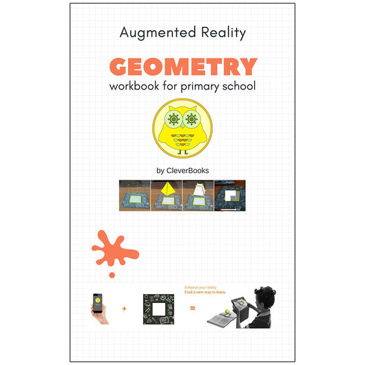 Augmented Reality Geometry Workbook for Primary School