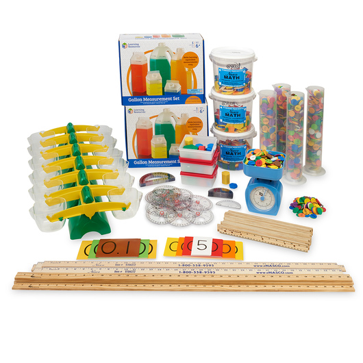 Nasco Introductory Manipulative Kits for use with the Eureka Math™* Curriculum - Grade 4