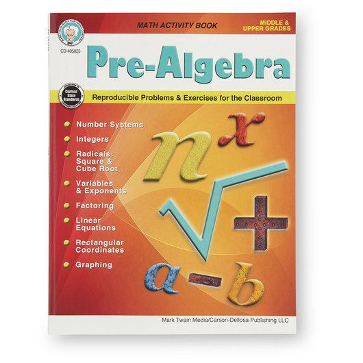 Math Activity Workbooks - Pre-Algebra