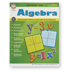 Math Activity Workbooks - Algebra