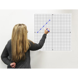 Easy Cling Graph - Coordinate Plane with X- and Y-Axes