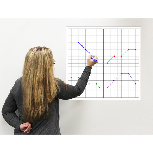 Easy Cling Graph - X- and Y-Axes