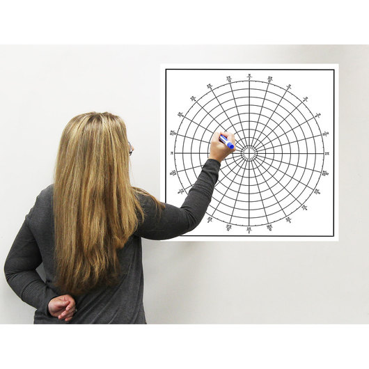 Easy Cling Graph - Polar Graph with Radians