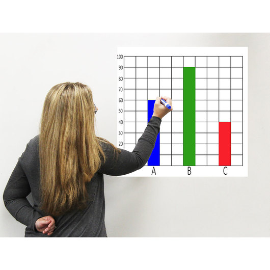 Easy Cling Graph - 10 x 10 Grid