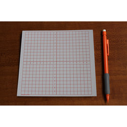 Graph Paper Pads - 10 to 10 Numbered Axis