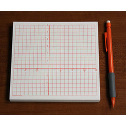 Graph Paper Pads - 1/4 in. Squares with Radian/Numbered Axis