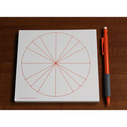 Graph Paper Pads - Unit Circle