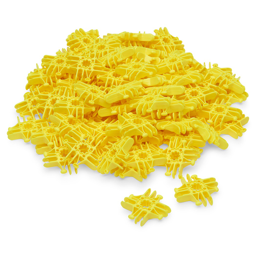 Lux Blox™ Bag of 100 Squares - Yellow