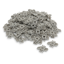 Lux Blox™ Bag of 100 Squares - Gray