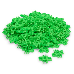 Lux Blox™ Bag of 100 Squares - Neon Green