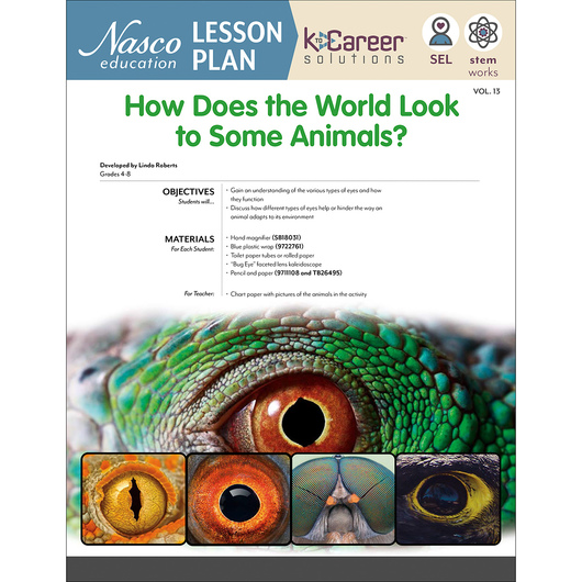 How Does the World Look to Some Animals? - Lesson Plan Volume 13