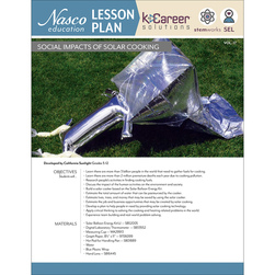Social Impacts of Solar Cooking - Lesson Plan Volume 17