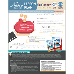 Learning to Manage Your Personal Finances - Lesson Plan Volume 30