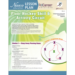 Floor Hockey Skill & Activity Circuit - Lesson Plan Volume 2