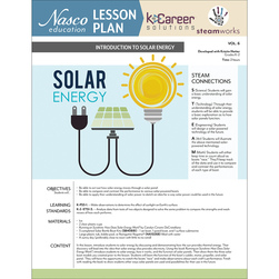 Introduction to Solar Energy - Lesson Plan Volume 6
