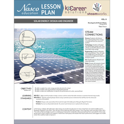 Solar Energy: Design and Engineer - Lesson Plan Volume 6