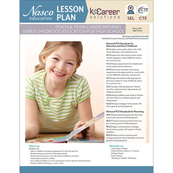 Teach & Train Career Pathway - Early Childhood Education for High School - Lesson Plan Volume 46