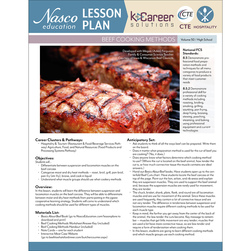 Beef Cooking Methods - Lesson Plan Volume 50