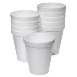 Styrofoam Insulated Hot Drink Cups, 8-oz.