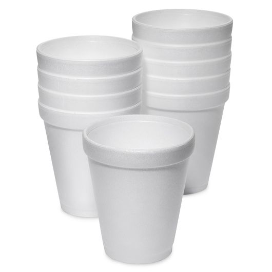 Styrofoam™ Insulated Hot Drink Cups - 8 oz.