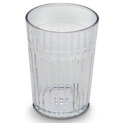Crystal Clear Plastic Tumblers