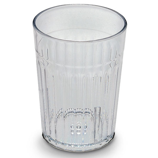 8-oz. Crystal Clear Plastic Tumblers