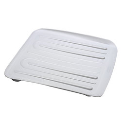 14-5/16 in. x 15-5/16 in. Drainer Tray - White