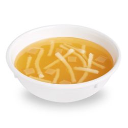 Life/form Chicken Noodle Soup Food Replica