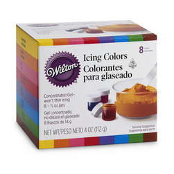 Wilton® 8-Color Icing Kit