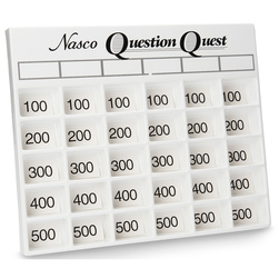 Question Quest Game Board