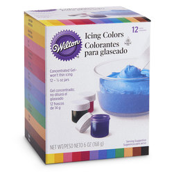 Wilton® 12-Color Icing Kit