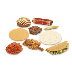 <strong>Life/form®</strong> MexicanAmerican Ethnic Food Replica Set