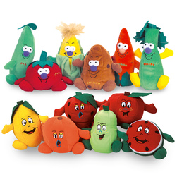 Fruit and Vegetable Beanbags