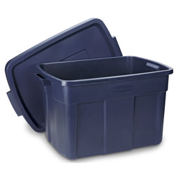 Rubbermaid Roughneck Storage Container, 25 Gallon