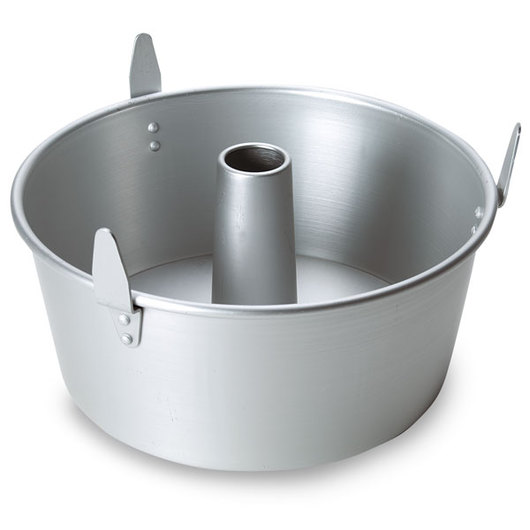 10 in. Angel Food Cake Pan with Legs
