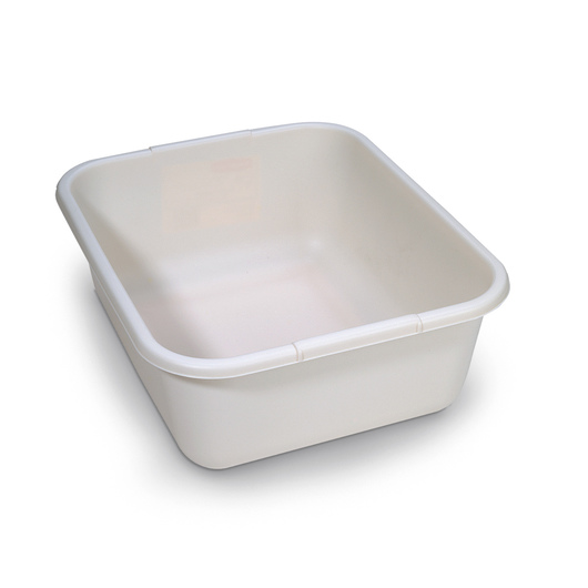 Bisque Dishpan - 14-1/4 in. x 12-1/4 in. x 5-1/2 in.