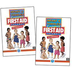Infant & Toddler Emergency First Aid Series 2 DVDs