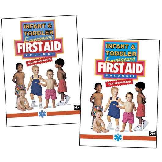 Infant & Toddler Emergency First Aid Series (2 DVDs)