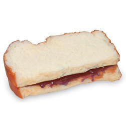 Life/form Peanut Butter and Jelly Sandwich Food Replica