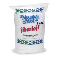 Polyester White Stuffing, 12-oz. Bag