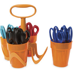 Fiskars for Kids Premium Classroom Pack with Art Caddy
